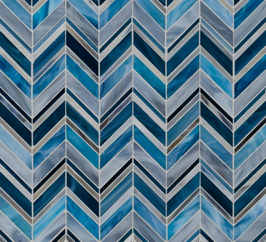 SWINGIN' CHEVRON BLUE BLEND