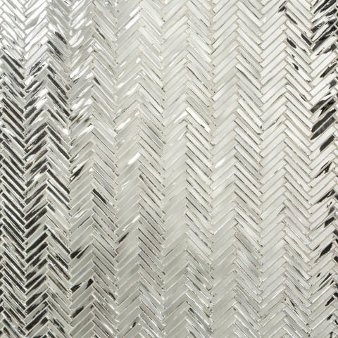 jazz glass hip herringbone mirror