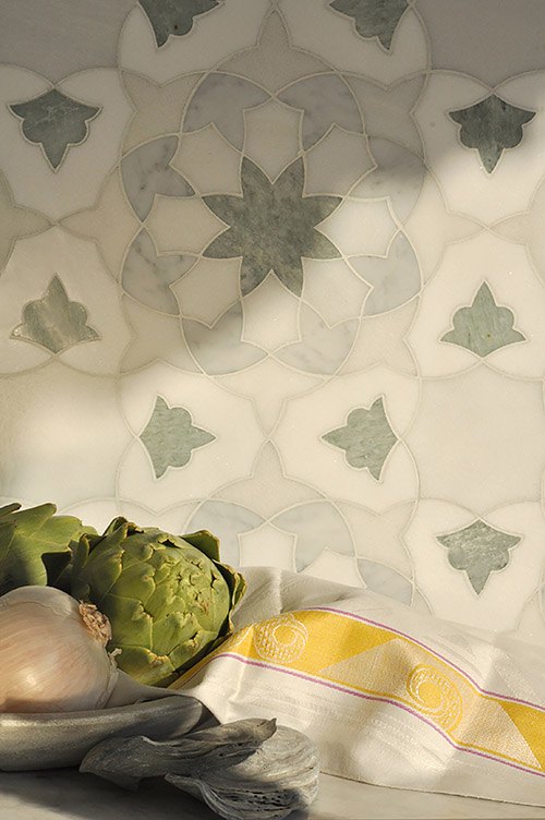 New Ravenna Miraflores Alcala Backsplash