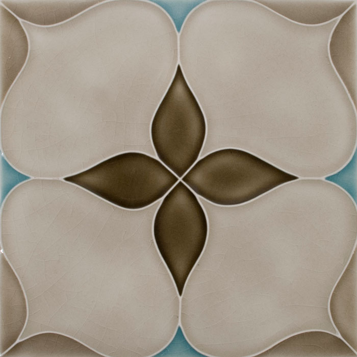 Pratt and Larson Tile Motif E custom