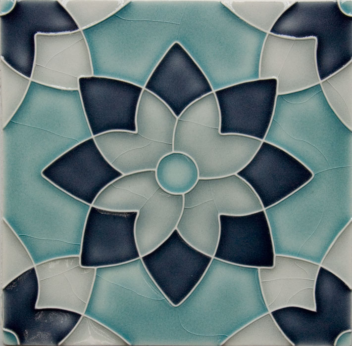 Pratt and Larson Tile Motif H custom