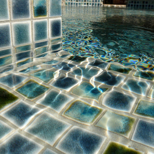 ceramic color blend pool