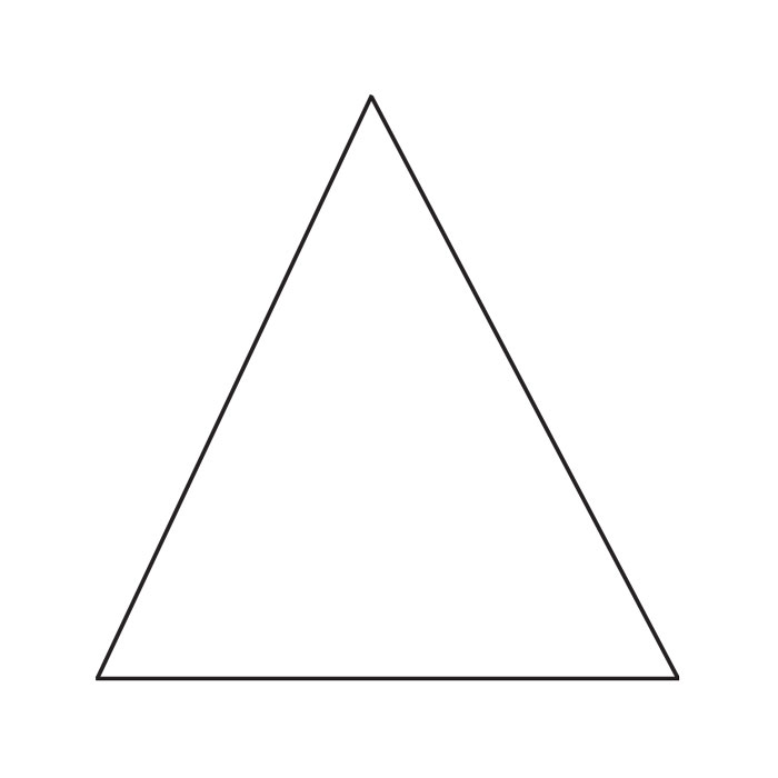 6″ Equilateral Triangle